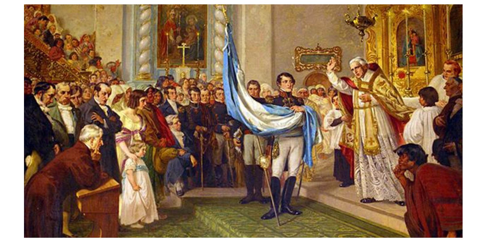 Bendición de la Bandera – Jujuy, 1812